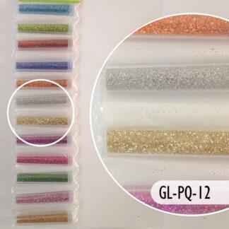 Glitter de colores para arte y manualidades.