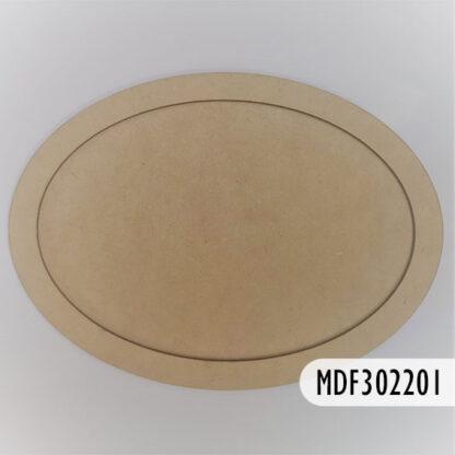 Ovalo Multipropósito MDF 30 cm, S69