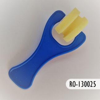 Rodillo de plástico y esponja 25 mm, S69