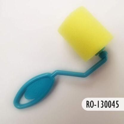 Rodillo de plástico y esponja 40 mm, S69
