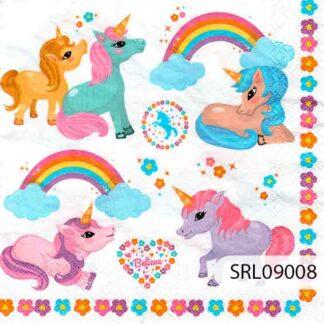 Servilletas decoradas 09 Infantiles