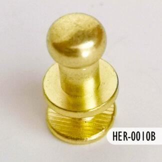 Botón dorado 5 mm, S69