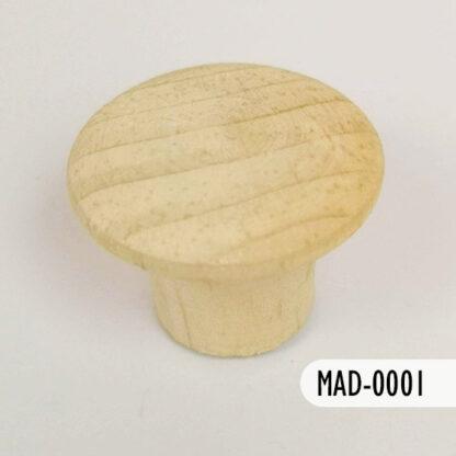 Botón de madera 27 mm, S69