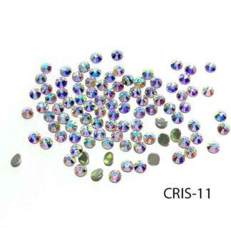 Cristales Tipo Swarovski Blanco Tornasol, S69