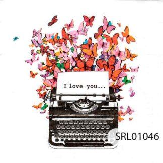 Servilletas decoradas 01 Amor