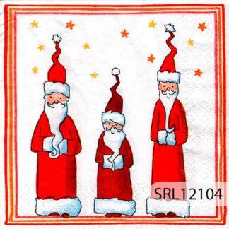 Servilletas decoradas 12 Navidad