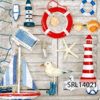 Servilletas decoradas 14 Océanos